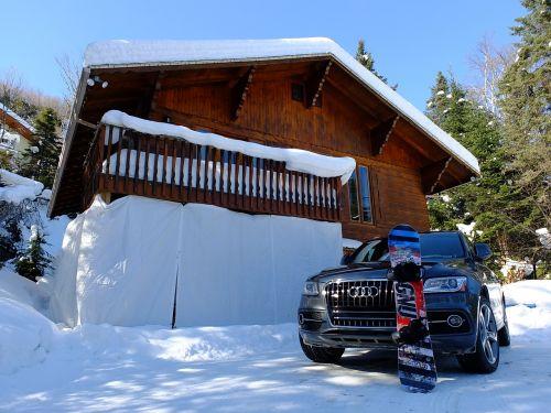 chalet snow audi