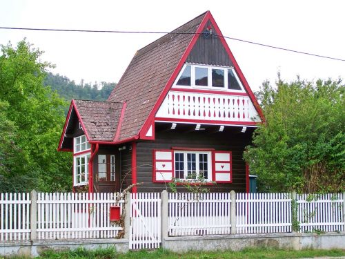 chalet holiday home little house