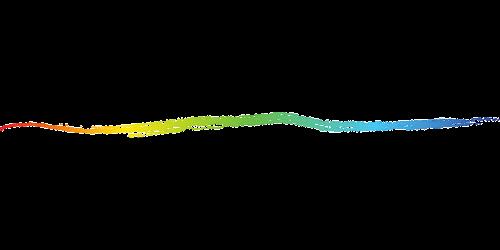 chalk gradient rainbow