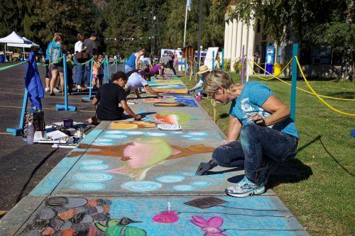 chalk artists artist chalk