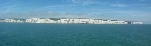 chalk cliffs dover coast