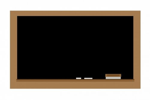 chalkboard blackboard chalk