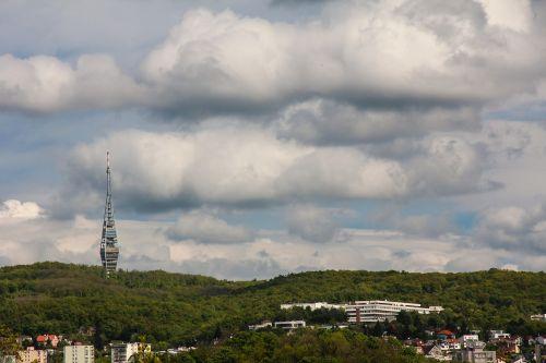 chamois transmitter tower