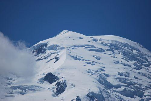 chamonix mountains snow