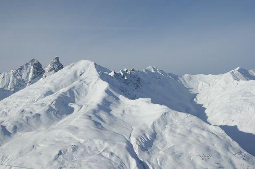 chamonix mountain snow