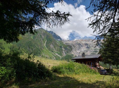 chamonix french alpes france