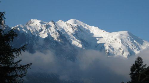 chamonix mountain mont blanc