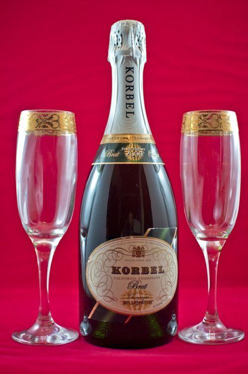 champagne celebration bubbly