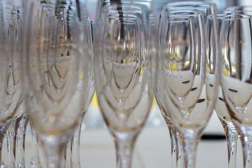 champagne  glasses  champagne glasses