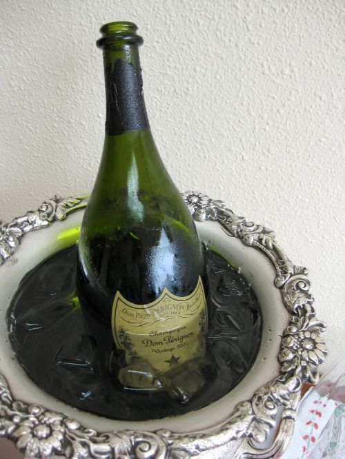 champagne festive luxury