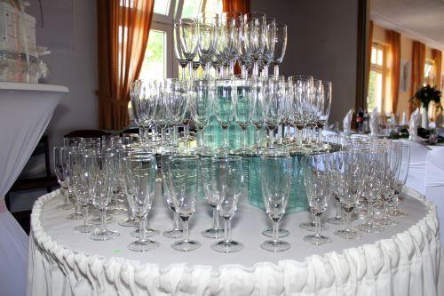 champagne glass champagne glasses pyramid