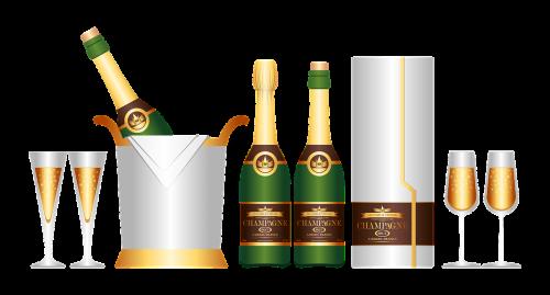 champagne set drink set
