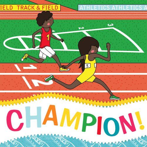 Champion Greeting Card Athletics