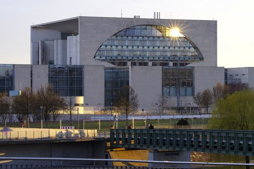 chancellery  berlin  capital