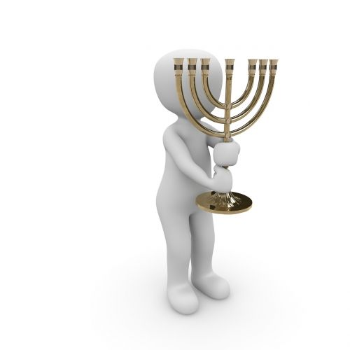 chandelier symbol jewish