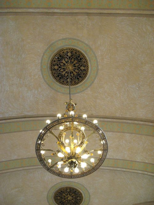 chandelier medallion decorative