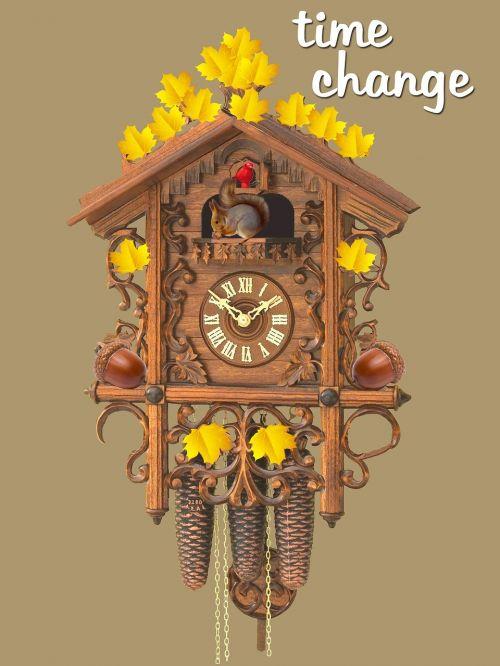 change time par