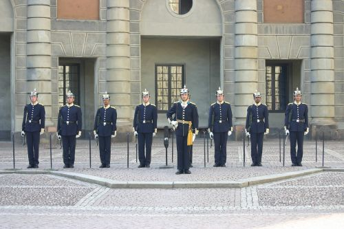 changing of the guard guard sweden