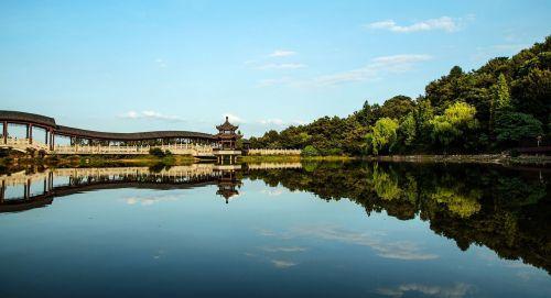 changsha ancient charm lake view