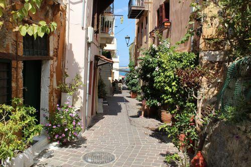 crete street chania