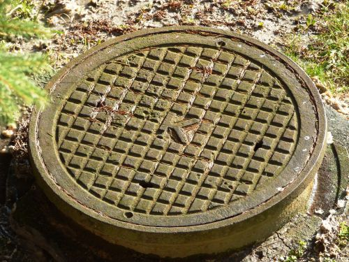 channel sewage outflow