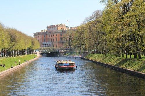 channel  st petersburg russia  petersburg