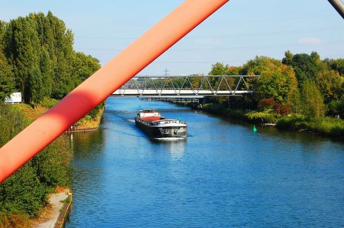 channel ship rhine herne canal