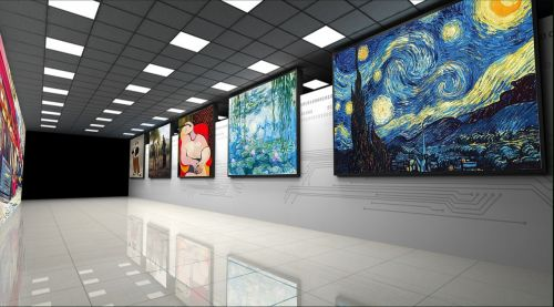 channel painting bathroom wall decor shopping mall wall decoration