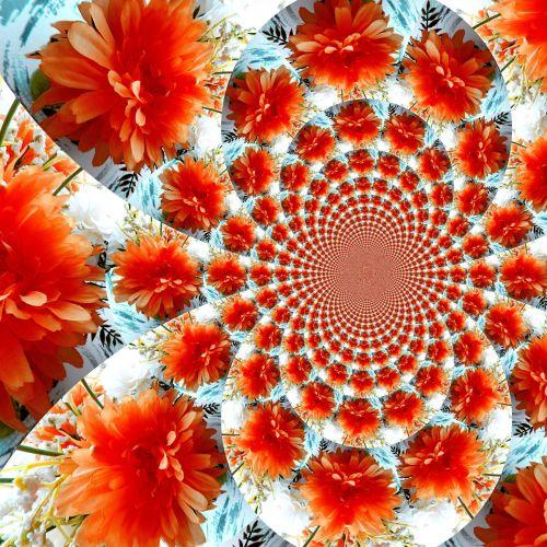 Scrapbooking, fonas, popierius, fraktalas, spiralė, gėlės, chaosas, chaosas (20)