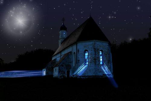 chapel church image editing