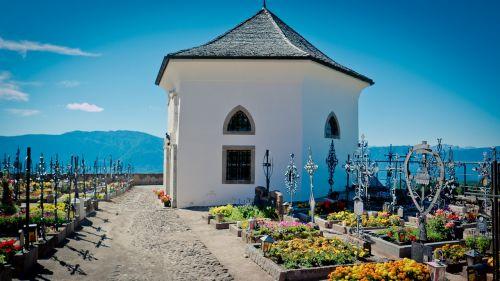 chapel cemetery graves