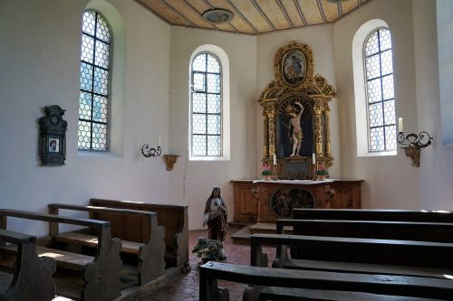 chapel st sebastian germany