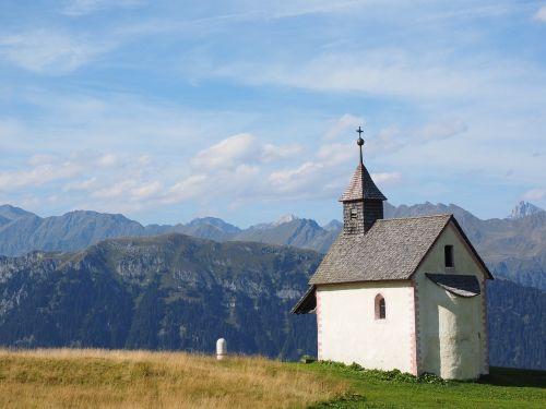 chapel church jaufenpass