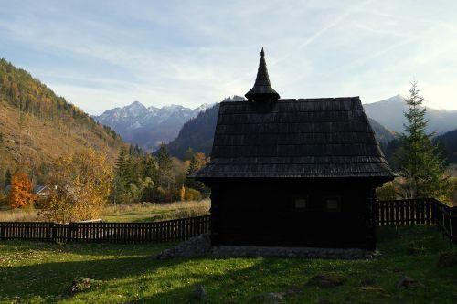 chapel mountains tatry