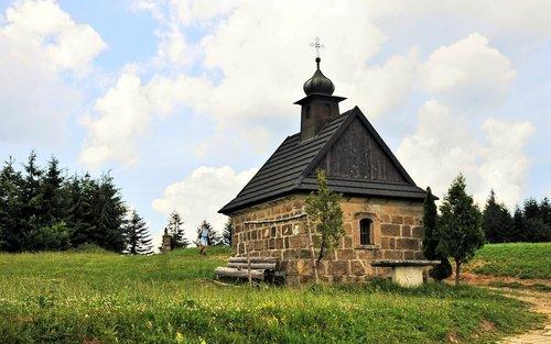 chapel  mountains  trail