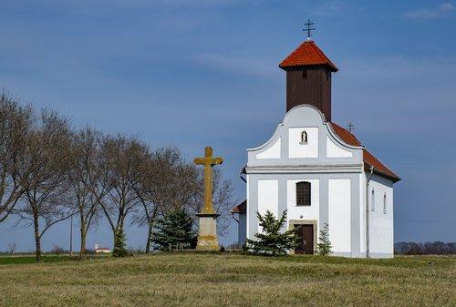 chapel  landscape  building