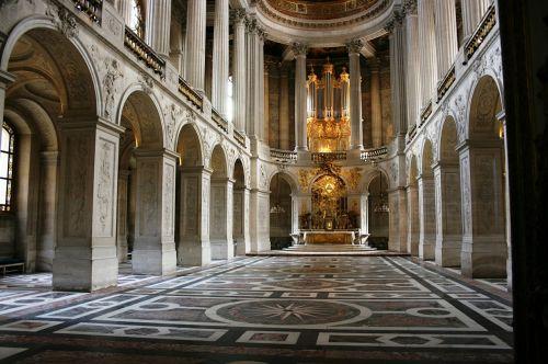 chapel palace of versailles palace