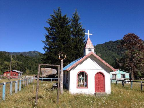 chapel parque nacional conguillo chile