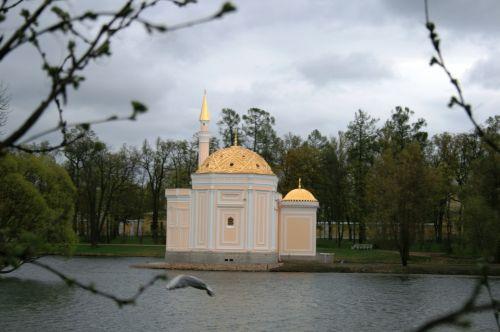 Chapel Across The Lake