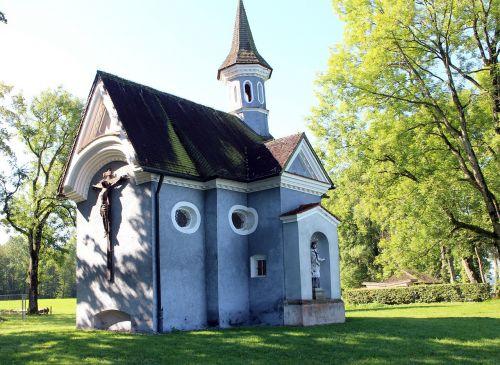 chapel of the cross mr island chiemsee