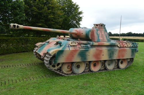 panther panzer char