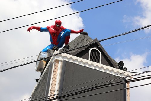 characters  spiderman  tourism