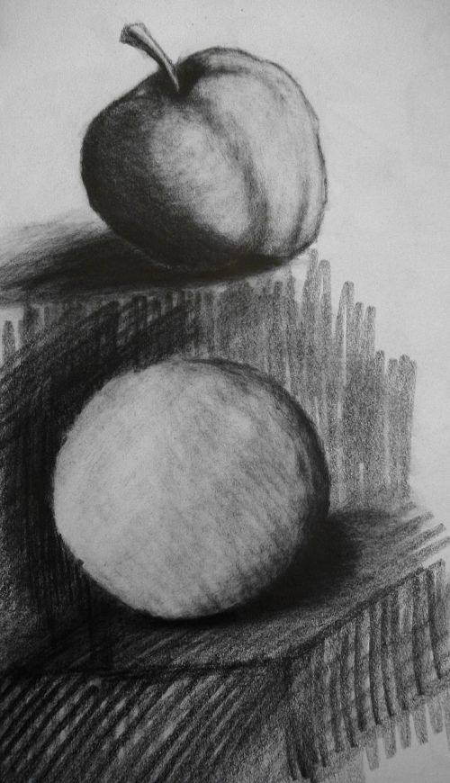 charcoal drawing pictures