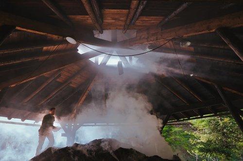 charcoal kiln  köhler  wood