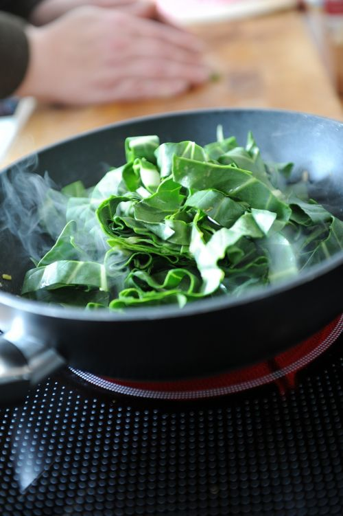 chard spinach cook