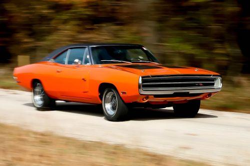 charger car orange