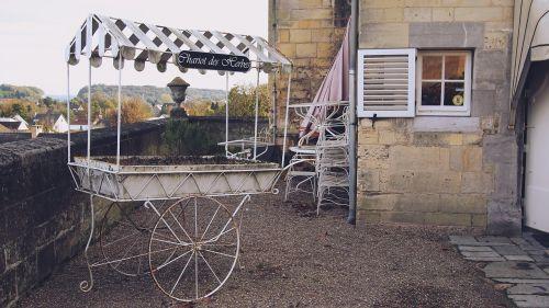 chariot cart vintage