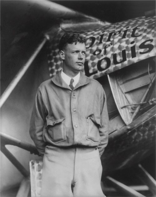 charles lindbergh american aviator author