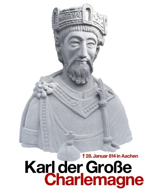 charles the great statue figure