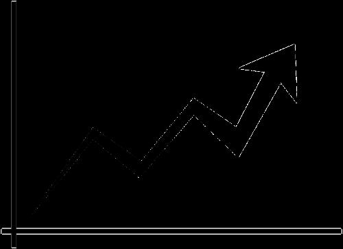 chart line line chart diagram